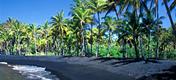 Havajské ostrovy - ostrov Havaj - pláž