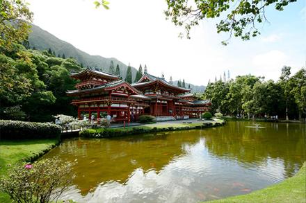 ostrov Havaj, údolí chrámů