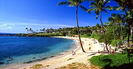 ostrov Maui, Kapalua bay