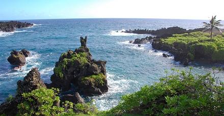 ostrov Havaj, Waianapanapa Park