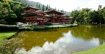 Hawai - údolí chrámů