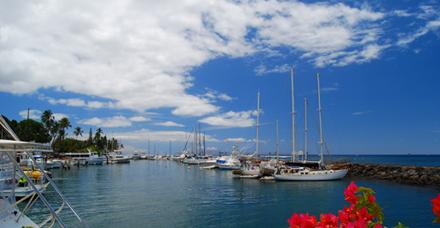 Havajské ostrovy - přístav